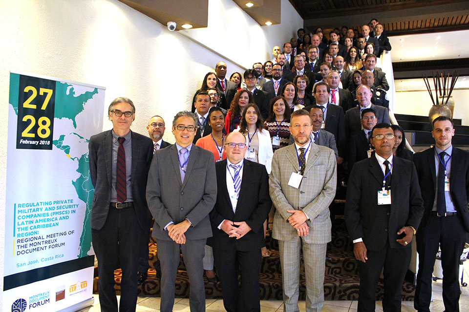 Regional Meeting of the Montreux Document Forum in San José, Costa Rica